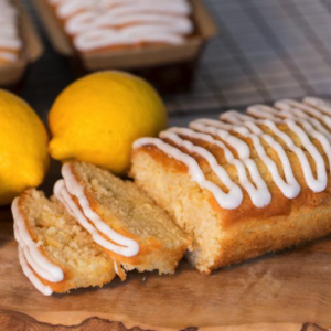 A delicious light cake packed with that extra zing!