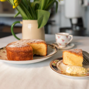 Award winning Wonderful Almond Cake from Mrs Gills. A truly delightful treat for almond lovers!